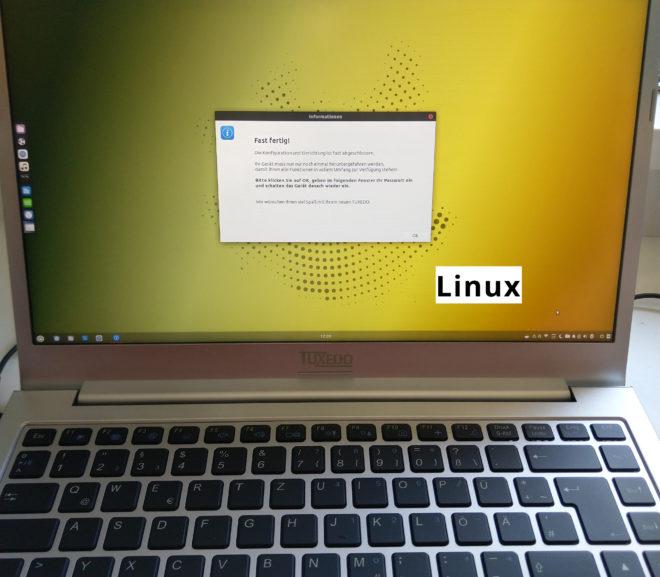 Tuxedo Laptop einrichten | Startklar zum Einsatz des Linux-Rechners | MRDS